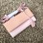 กระเป๋าเงิน กระเป๋าครัช Charles & Keith Top Handle Clutch Bag สีชมพู ราคา 1,090 บาท Free Ems thumbnail 1