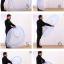 มุ้งกันยุงสำหรับเตียงนอนขนาด 6 ฟุต (180*200 cm) แบบเต้นท์กระโจม thumbnail 7