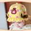 หมวกเด็กปีกกว้าง หมวกซันเดย์ ประดับปอยผม ลายกระต่ายน้อย (มี 3 สี) thumbnail 5