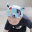 หมวกแก๊ป หมวกเด็กแบบมีปีกด้านหน้า ลายแมวเหมียว (มี 3 สี) thumbnail 7