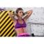 สปอร์ตบรา ชุดกีฬาผู้หญิง รุ่นซิปหน้า รองรับแรงกระแทกระดับ 4 ใส่สบาย - สีม่วง thumbnail 2