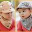 หมวกแก๊ปและผ้ากันเปื้อน Where Are We Going? Dad! เด็ก 3-24 เดือน thumbnail 2