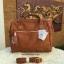 กระเป๋าเป้ ANELLO 2 WAY PU LEATHER BOSTON BAG (Regular)----- Camel Color thumbnail 2