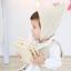 HT315••หมวกเด็ก•• / [สีเบจ] หมวกไหมพรมทรงสูง thumbnail 1