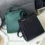 กระเป๋า CHARLES & KEITH TOP HANDLE BAG สีเขียว กระเป๋าถือหรือสะพายรุ่นใหม่ล่าสุดแบบชนช็อป thumbnail 3