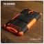 เคส Zenfone GO (ZC500TG) กรอบบั๊มเปอร์ กันกระแทก Defender สีส้ม (เป็นขาตั้งได้) thumbnail 2