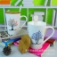 ชุดแก้วเซรามิค ลายต้นไม้ พร้อมฝาปิดไม้ ยกชุด 4 ใบ < พร้อมส่ง > thumbnail 6