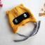 หมวกไหมพรม หมวกบีนนี่สำหรับเด็ก ลายแร็คคูน (มี 2 สี) thumbnail 12