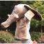 ตุ๊กตาหุ่นมือช้าง หัวใหญ่ ขนนุ่มนิ่ม สวมขยับปากได้ thumbnail 2