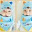 เซตหมวก+ผ้าซับน้ำลาย / ลายแมว (มี 5 สี) thumbnail 17