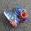 รองเท้าเด็กวัยหัดเดิน ทรง Sport คัทชูทรงเท่สีฟ้าส้ม (เท้ายาว 12-14 ซม.) thumbnail 2