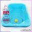 อ่างอาบน้ำเด็ก farlin FIN BABYPLUS สีฟ้า thumbnail 2