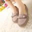 รองเท้าโลฟเฟอร์ หนังวัวแท้ สีเทา - KR0353 thumbnail 10
