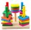 ของเล่นไม้ บล็อคไม้สวมหลัก เสริมพัฒนาการ thumbnail 5