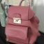 กระเป๋า CHARLES & KEITH METALIC PLATE BACKPACK สีชมพู ราคา 1,490 บาท Free Ems thumbnail 6