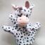 ตุ๊กตามือ หุ่นมือรูปลูกวัว thumbnail 1