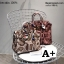 กระเป๋าถือสะพายหนังแท้ สองขนาด ลายงานหนังวัวแท้ สีทูโทน (Leather100%) thumbnail 6