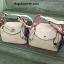 กระเป๋า หนังแท้ Lindy26cm Swift Silver Studd material Coated Leather หนังลูกวัว100% thumbnail 4