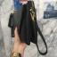 กระเป๋าสะพาย ปรับเป็นคลัชได้ สีดำ รุ่น KEEP Doratry shoulder &clutch bag thumbnail 8