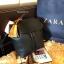 กระเป่า ZARA Detail Backpack กระเป๋าเป้รุ่นแนะนำวัสดุหนังเรียบสีดำอยู่ทรงสวยคุณภาพดี ดีไซน์เรียบหรูใช้ได้เรื่อยๆ thumbnail 4
