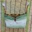 Spider เปลญวนผ้าคอตตอลก้นกว้าง เขียว-ทองเลอค่า thumbnail 1