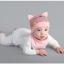 เซตหมวก+ผ้าซับน้ำลาย / ลาย Cat Baby (มี 5 สี) thumbnail 10