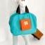 กระเป๋าช้อปปิ้งพับเก็บได้ ผ้าหนา สีสันสดใส ผลิตจากโพลีเอสเตอร์กันน้ำ คุ้มค่า (Street Shopper Bag) thumbnail 4