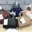 LYN Madison Bag สีชมพูโอรส กระเป๋าถือหรือสะพายทรงสวย รุ่นใหม่ล่าสุด วัสดุหนัง Saffiano thumbnail 12