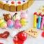 ของเล่นไม้ เซตตกแต่งหน้าเค้ก Wooden Decoration Cake Set by Mother Garden thumbnail 4
