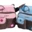 กระเป๋าใส่ของใช้เด็ก Carter's สะพายใบเล็ก ปักลายดอกไม้ thumbnail 2