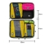 กระเป๋าใส่อุปกรณ์อาบน้ำ คุณภาพสูง ใส่ขวดได้ มีกระเป๋าใส่ของเพิ่มซ้าย-ขวา แขวนได้ สำหรับเดินทาง ท่องเที่ยว (สีดำ) thumbnail 16