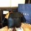 กระเป่า ZARA Detail Backpack กระเป๋าเป้รุ่นแนะนำวัสดุหนังเรียบสีดำอยู่ทรงสวยคุณภาพดี ดีไซน์เรียบหรูใช้ได้เรื่อยๆ thumbnail 3