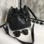 กระเป่า David Jones Bucket Leather Size L (bag) กระเป๋าสะพายข้างดีไซน์เกร๋มาก สีดำสวยมาก chic thumbnail 2