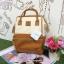 กระเป๋าเป้ Anello Polyurethane Leather Rucksack รุ่น Mini Two-Tone ใหม่ล่าสุด!!! thumbnail 5