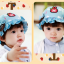หมวกเด็กปีกกว้าง หมวกซันเดย์ ประดับปอยผม ลายกระต่ายน้อย (มี 3 สี) thumbnail 9