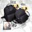 กระเป๋าเป้ไนล่อน แบรนด์ KEEP รุ่น Keep classic nylon backpack ขนาดเบสิกใส่ A4 ได้ค่ะ thumbnail 4