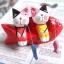 แมวไม้ญี่ปุ่นนั่งตกปลา thumbnail 1