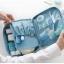 กระเป๋าอเนกประสงค์พกพาสะดวก สำหรับใส่อุปกรณ์เครื่องสำอาง อุปกรณ์ห้องน้ำ หรือสิ่งของจำเป็นอื่นเพื่อการเดินทาง ทำจากไนล่อนกันน้ำคุณภาพดี thumbnail 4
