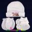 ชุดหมวก ถุงมือ ถุงเท้า ผ้าลิปเข้าชุดกัน (แพ็ค 12 เซ็ต) thumbnail 3