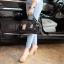 กระเป๋า David Jones กระเป๋าสะพายข้างดีไซน์เกร๋มาก สีดำเงาสวยหรูมาก ขนาดกะลังดีเลย thumbnail 10