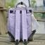 กระเป๋าเป้ ANELLO X PAGEBOY- LOCAL BRAND วัสดุ Polyester canvas สลับหนังกลับ ปากกระเป๋าเปิดปิดด้วยซิปคู่ thumbnail 8