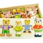 ของเล่นไม้ ชุดแต่งตัวตุ๊กตา ครอบครัวหมี thumbnail 4