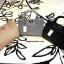 กระเป๋า CHARLES & KEITH TERN LOCK TOTE BAG 2016 สีดำ กระเป๋าถือหรือสะพายรุ่นใหม่ชนช็อปดีไซน์สวยวัสดุหนังเรียบตัดหนังคาเวียร์ดูหรู thumbnail 10