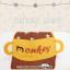 HT329••หมวกเด็ก•• / หมวกแก็ป Monkey (สีชมพู) thumbnail 4