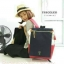 กระเป๋าเป้ Anello flap rucksack polyester canvas แบรนด์ดังรุ่นใหม่มาอีกแล้วว วัสดุผ้าแคนวาสเนื้อดี ยังคงเอกลักษณ์ความกว้างของปากกระเป๋าเพื่อการใช้งานที่ง่ายและสะดวก รุ่นนี้มีช่องเก็บสัมภาระมากมาย ทั้งภายในและภายนอก ด้านข้างใส่ขวดน้ำได้ ด้านหลังยังคงเป็นช่ thumbnail 12