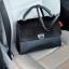 กระเป๋า Charles & Keith PUSHLOCK HANDBAG Black สวย หรู คุ้มเกินราคาคะ ตัวกระเป๋า เป็นหนัง ติดขน fur thumbnail 3
