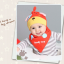 AP213••เซตหมวก+ผ้ากันเปื้อน•• / Dog [สีแดง] thumbnail 1