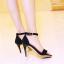 รองเท้าส้นสูงไซส์ใหญ่ ไซส์ 40 Suede Single-hued Strappy รุ่น KR0489 thumbnail 8