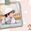 HT461••หมวกเด็ก•• / หมวกปีกกว้าง-bubbles (สีชมพูอ่อน) thumbnail 3