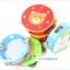 แทมบูรินไม้เคาะจังหวะสำหรับเด็ก การ์ตูนคละลาย - Tambourine musical educational toy thumbnail 12